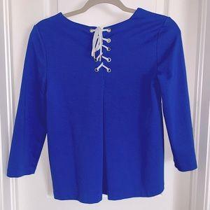 Tommy Hilfiger Women's 3/4 Butterfly Sleeve Blouse